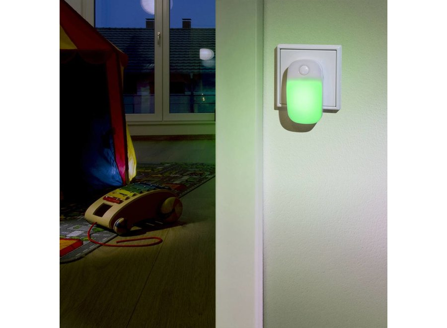Ansmann LED Nachtlamp Guide Ambiente - Groen