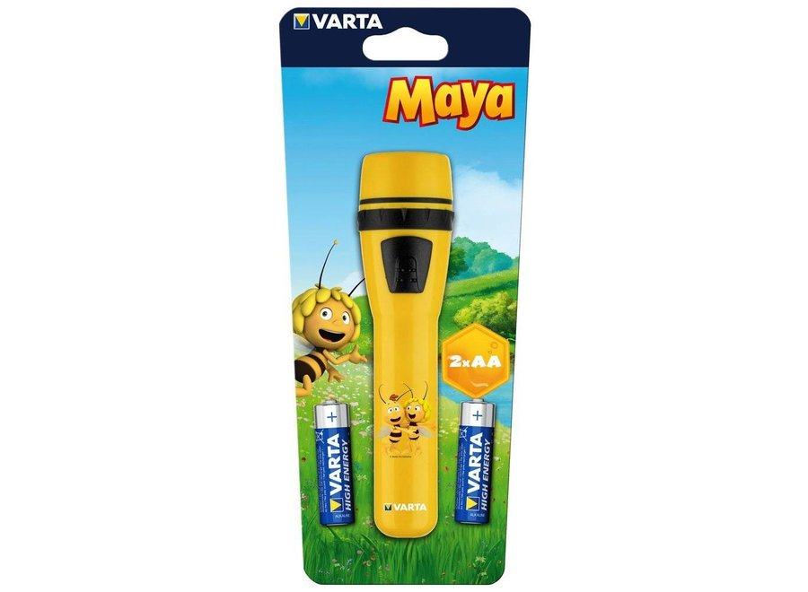 Varta Maya de Bij LED Zaklamp - Geel