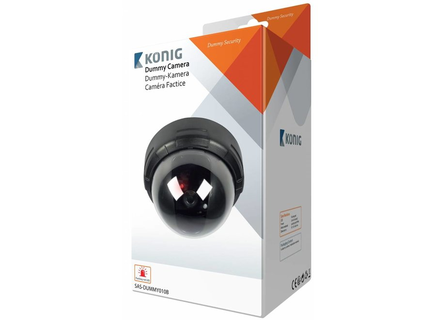 Konig SAS-DUMMY010B Dome Dummy Camera - Zwart