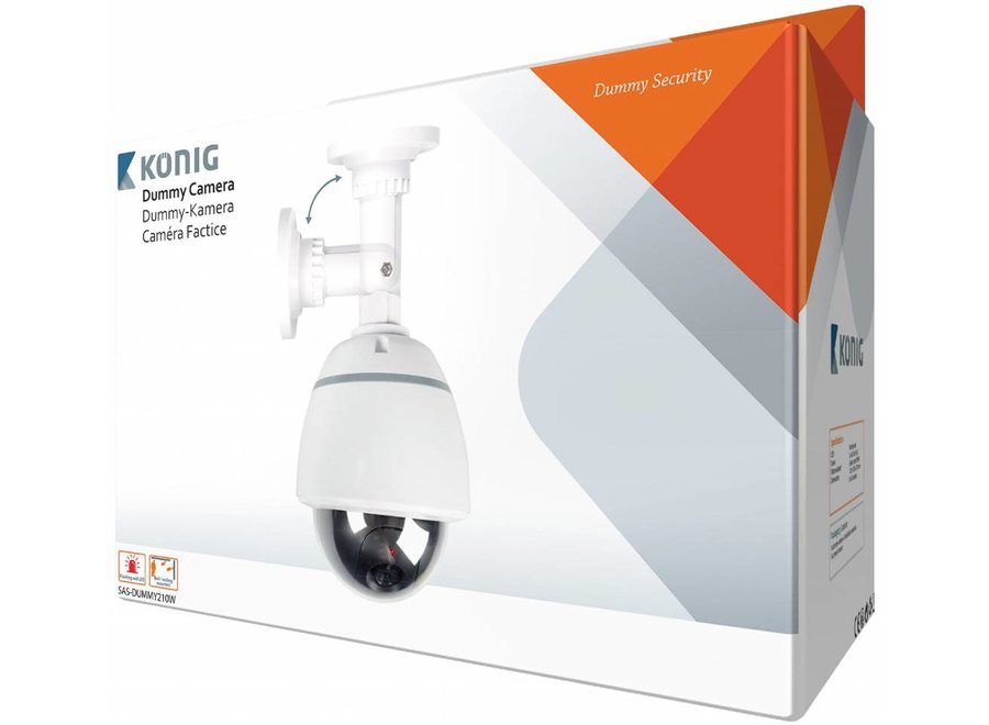 Konig SAS-DUMMY210W LED Dome Dummy Camera