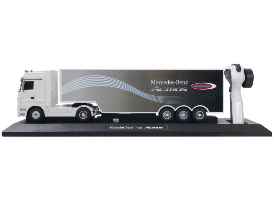 Jamara LED Mercedes-Benz Actros 1:32 - Wit