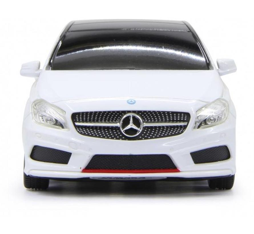Jamara LED Mercedes-Benz A-Klasse RC 1:24 - Wit