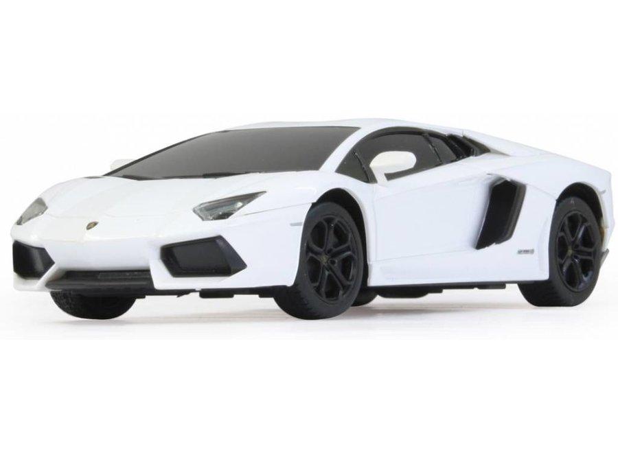 Jamara LED Lamborghini Aventador LP 700-4 RC 1:24 - Wit