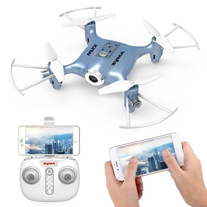 Syma X21W FPV Real-Time Quadcopter - Blauw