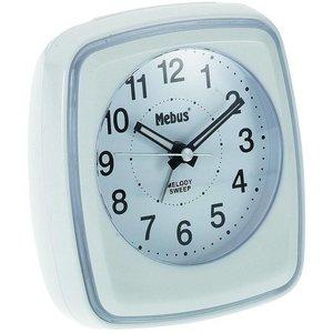 Mebus Mebus 42167 Kwarts Wekker - Wit