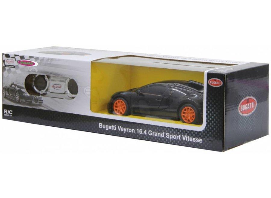 Jamara Bugatti Veyron Grand Sport Vitesse RC 1:24 - Zwart