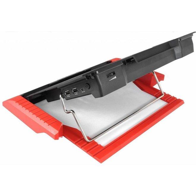 Thermaltake Massive23 GT Notebook Cooler - Rood