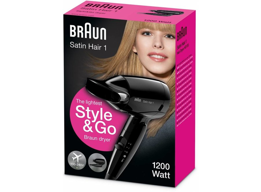Braun HD130 Satin Hair 1 Haardroger