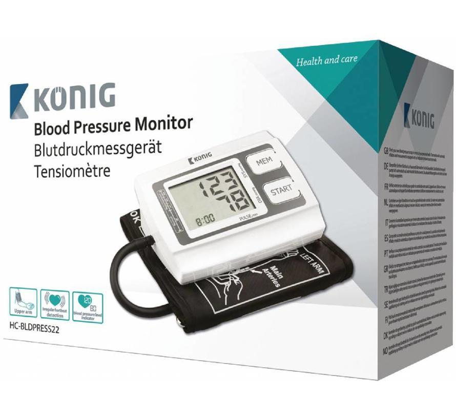 Konig HC-BLDPRESS22 Bovenarmbloeddrukmeter
