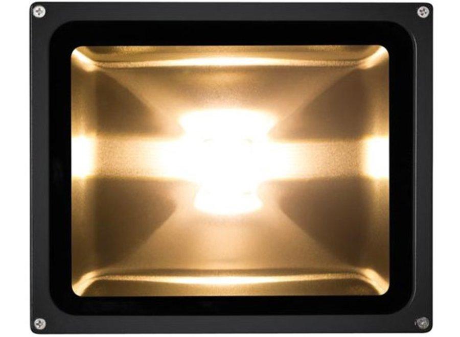 Perel LEDA3003WW-B COB 3000K LED Lamp 30 W - Black