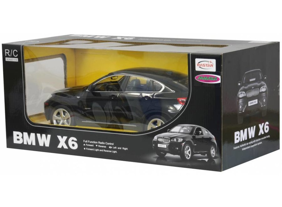 Jamara BMW X6 RC 1:14 - Zwart