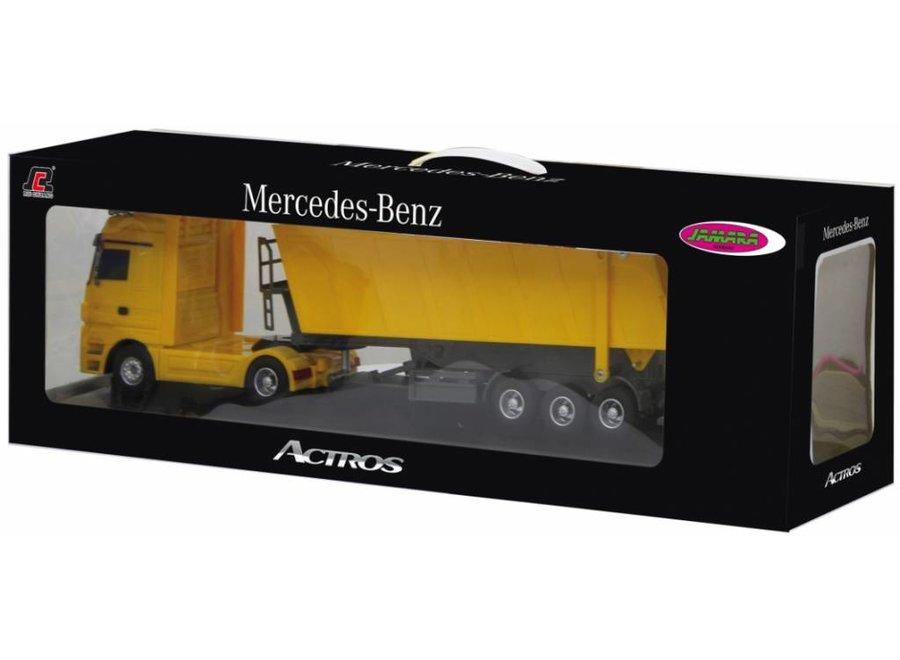 Jamara Mercedes-Benz Actros Tipper 1:32 - Geel