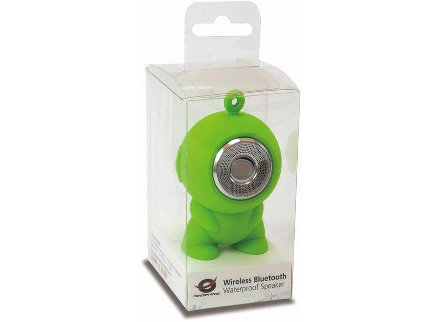 Conceptronic CSPKBTWPHFG Draagbare Bluetooth Speaker - Groen