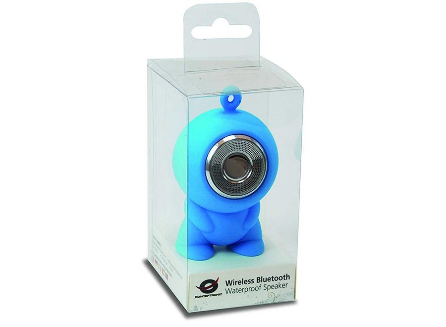 Conceptronic CSPKBTWPHFB Draagbare Bluetooth Speaker - Blauw