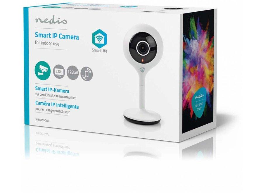 Nedis WIFICI05CWT IP-beveiligingscamera HD 720p - Wi-Fi
