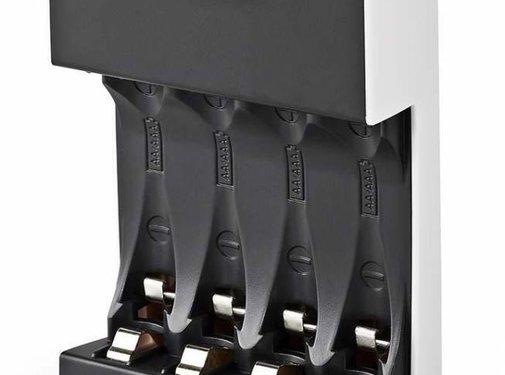 Nedis Nedis BACH05 Batterijlader AA/AAA