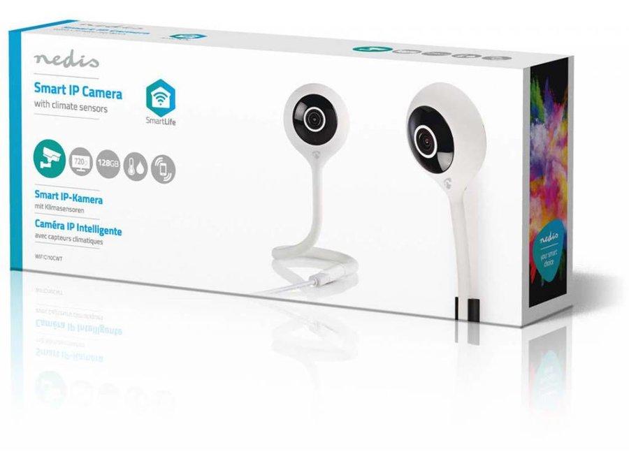 Nedis WIFICI10CWT Klimaatsensor IP-beveiligingscamera HD 720p - Wi-Fi