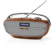 Nedis Nedis RDDB5300BN DAB+ Radio Bluetooth - 60 W