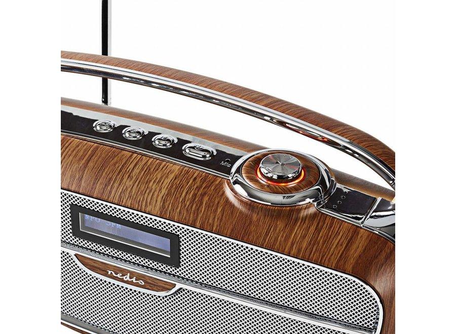 Nedis RDDB5300BN DAB+ Radio Bluetooth - 60 W