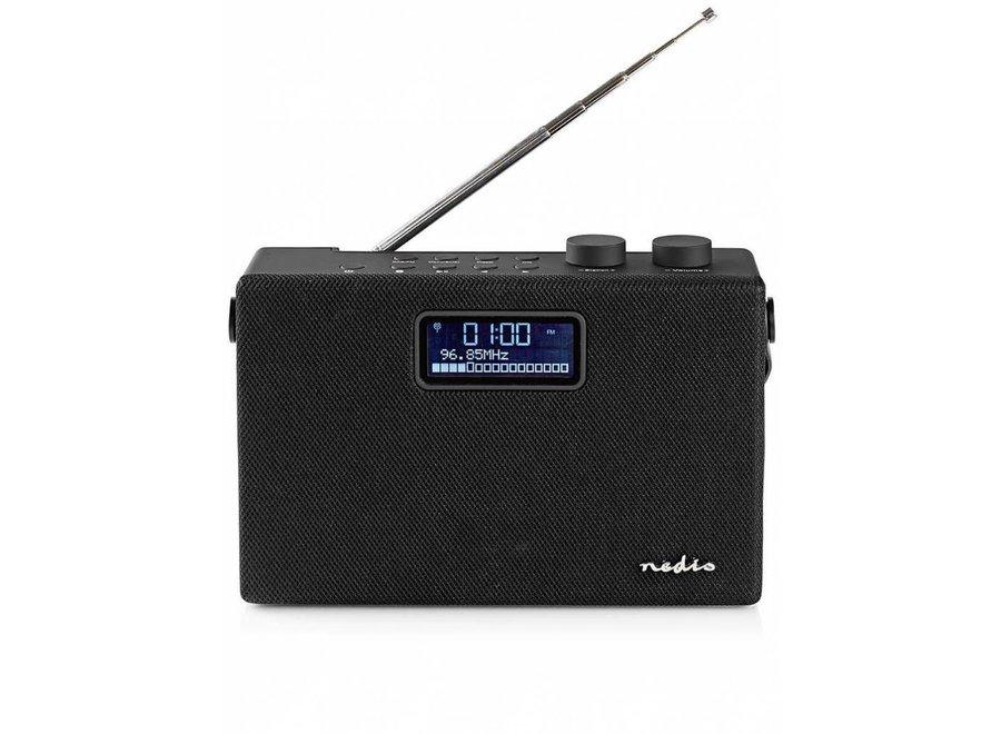 Nedis RDDB4320BK DAB+ Radio Bluetooth - 15 W