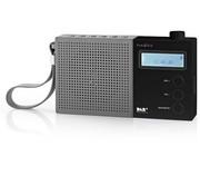 Nedis Nedis DAB+ Radio met Klok & Alarm - 4,5 W - Grijs/zwart