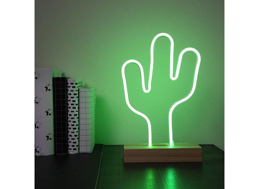Smartwares IDE-60030 Neon LED Lamp Cactus - Groen