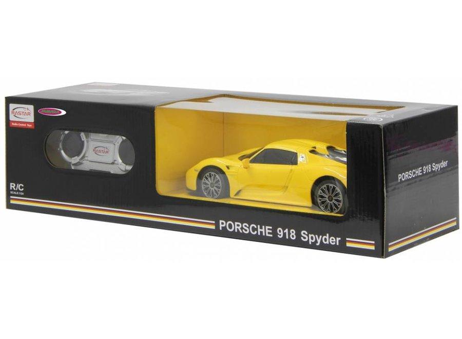 Jamara Porsche 918 Spyder RC 1:24 - Geel