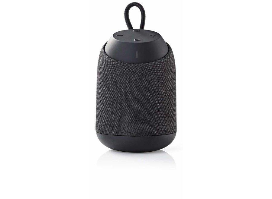 Nedis SPBT37101GY Luidspreker met Bluetooth Draaglus - Grijs