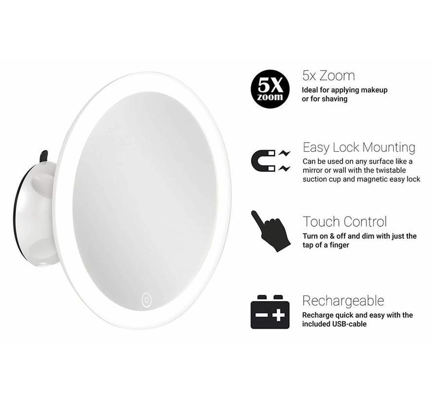 Smartwares IWL-60010 LED Make-up Spiegel Rond