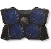"Nedis Nedis GNCR200BK LED Gaming Laptop Koeler - 15 - 19"""
