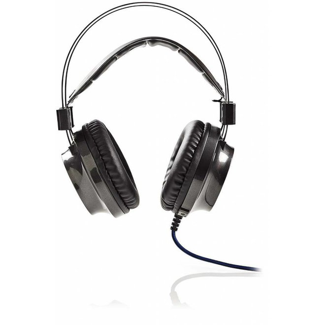 Nedis GHST400BK LED Gaming Headset