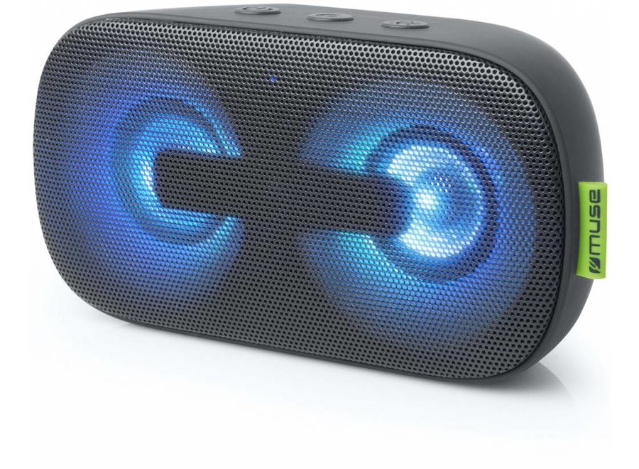 Muse M-370 DJ LED Luidspreker met Bluetooth