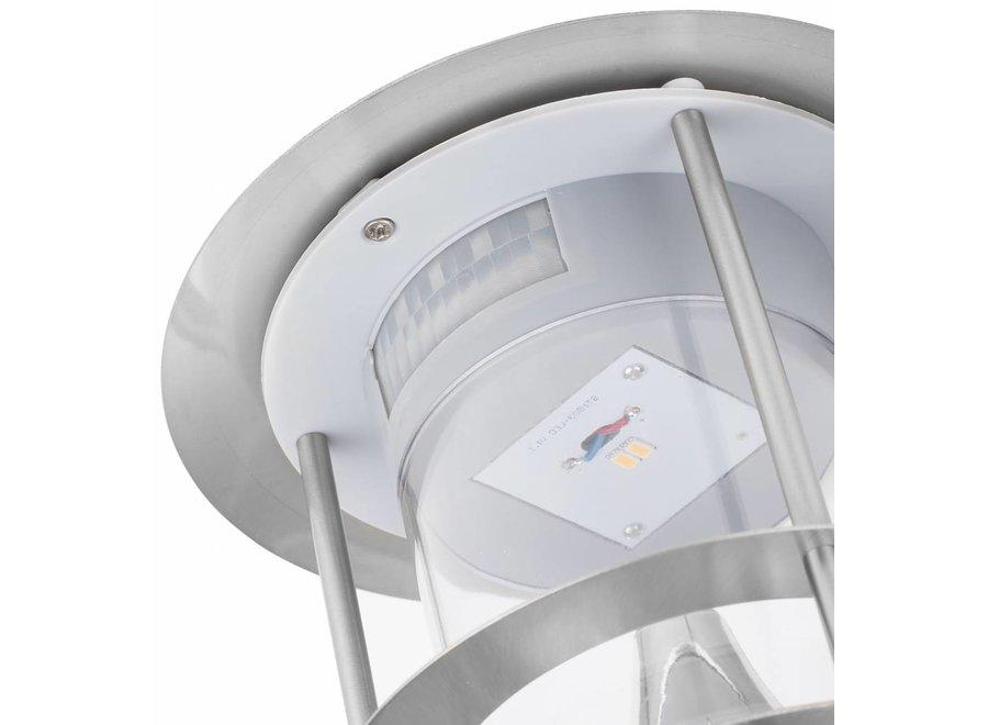 Smartwares GWS-177-MS Solar LED RVS Wandlamp met Sensor