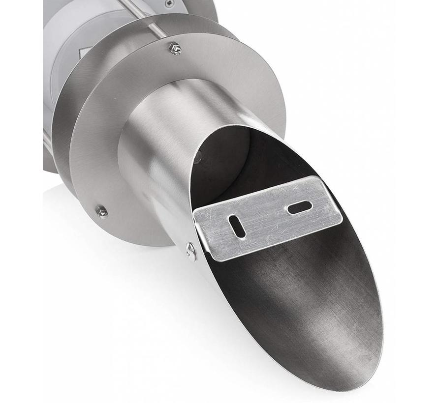 Smartwares GWS-178-MS Solar LED RVS Wandlamp met Sensor