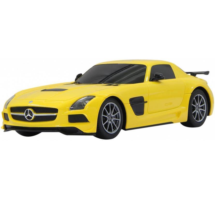 Jamara Mercedes-Benz SLS AMG RC 1:18 - Geel