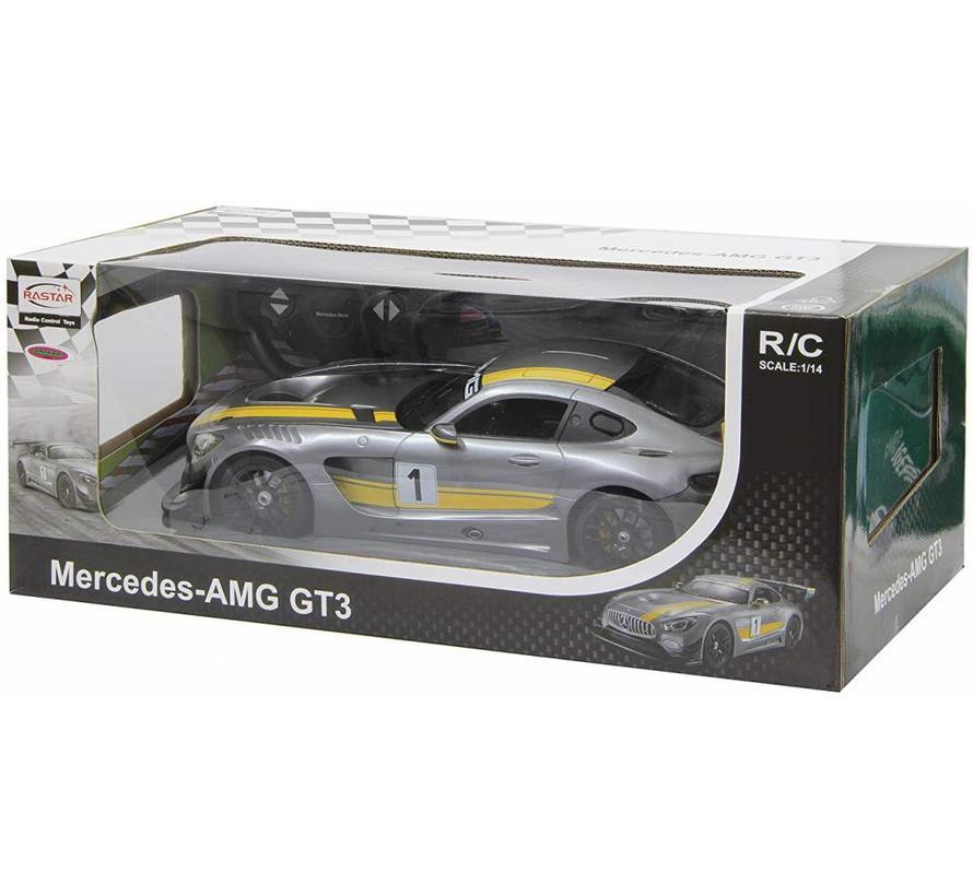 Jamara Mercedes-AMG GT3 RC 1:14 - Grijs
