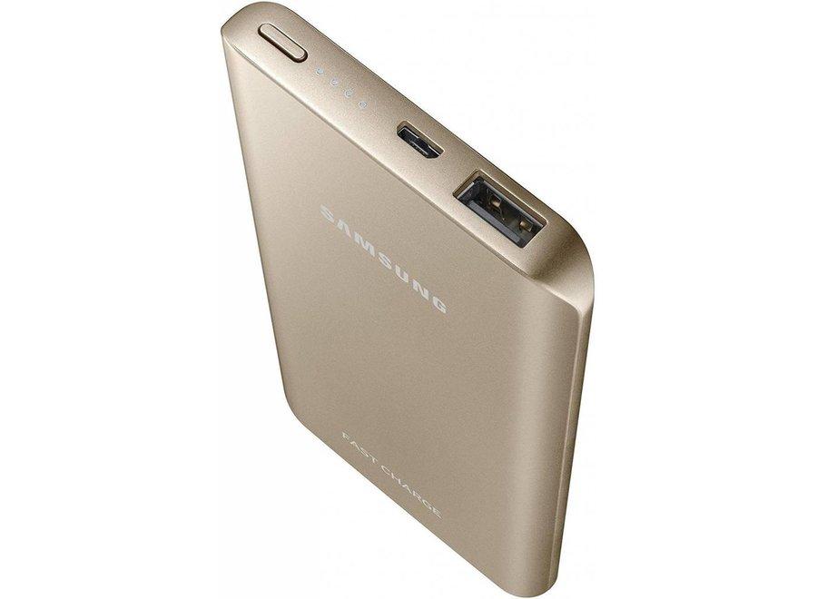 Samsung Powerbank Fast Charging 5200 mAh - Goud
