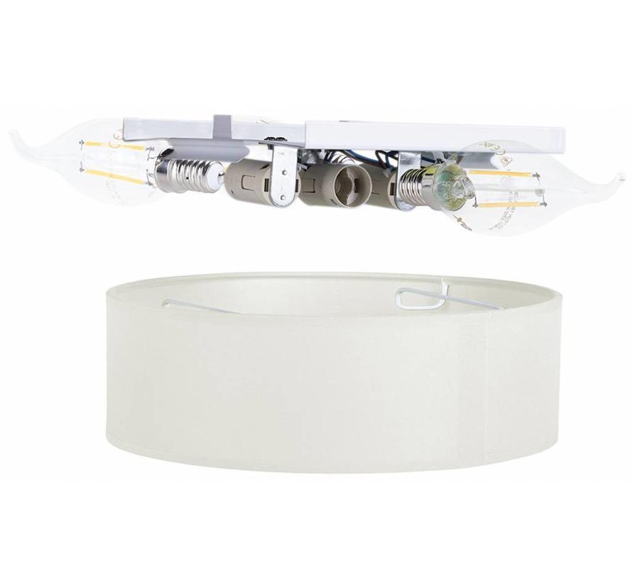 Smartwares 6000.542 Mia LED Plafondlamp 40 cm - Wit