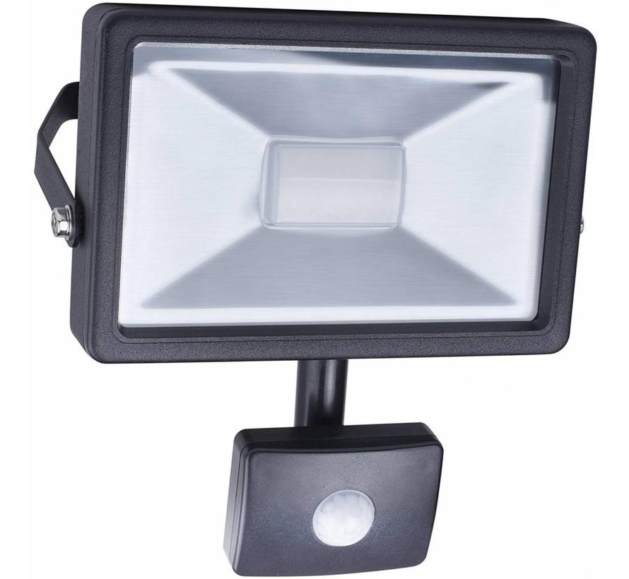 Smartwares SL1-B20B LED Schijnwerper met Sensor 4000 K - 20 W