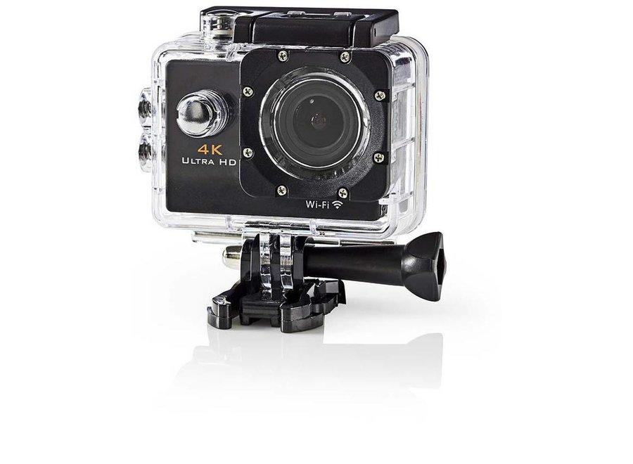 Nedis ACAM40BK Actioncam Ultra HD 4K - Wi-Fi