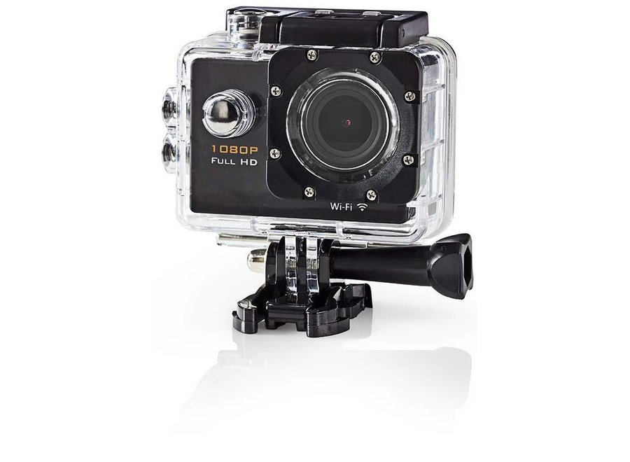 Nedis ACAM20BK Actioncam Full HD 1080p - Wi-Fi