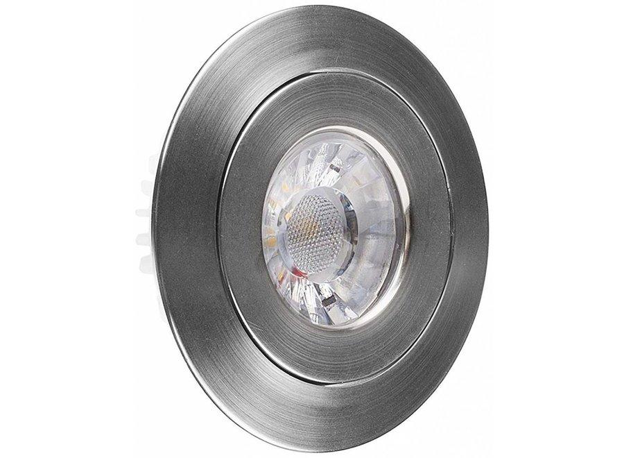 Smartwares IDL-60004 LED Inbouwspot 3000 K - RVS