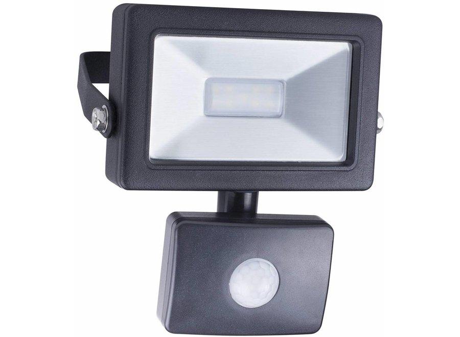 Smartwares SL1-B10B LED Schijnwerper met Sensor 4000 K - 10 W
