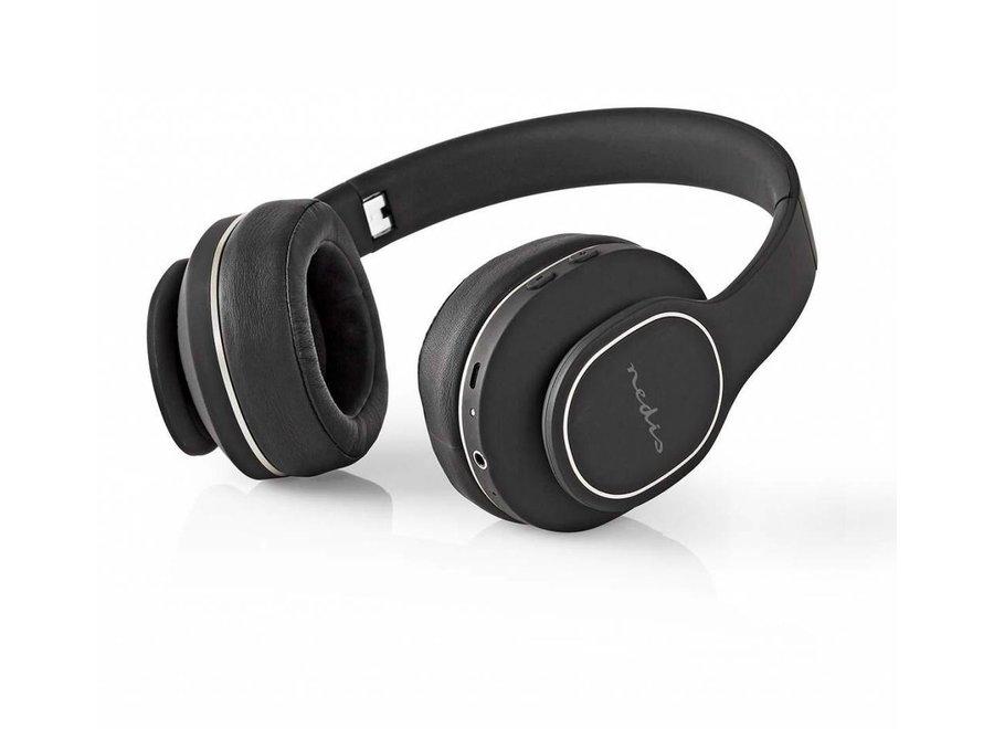 Nedis HPBT3260BK Over-ear Bluetooth Koptelefoon