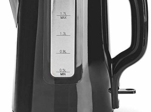 Nedis Nedis KAWK120EBK LED Waterkoker 1,7L - Zwart