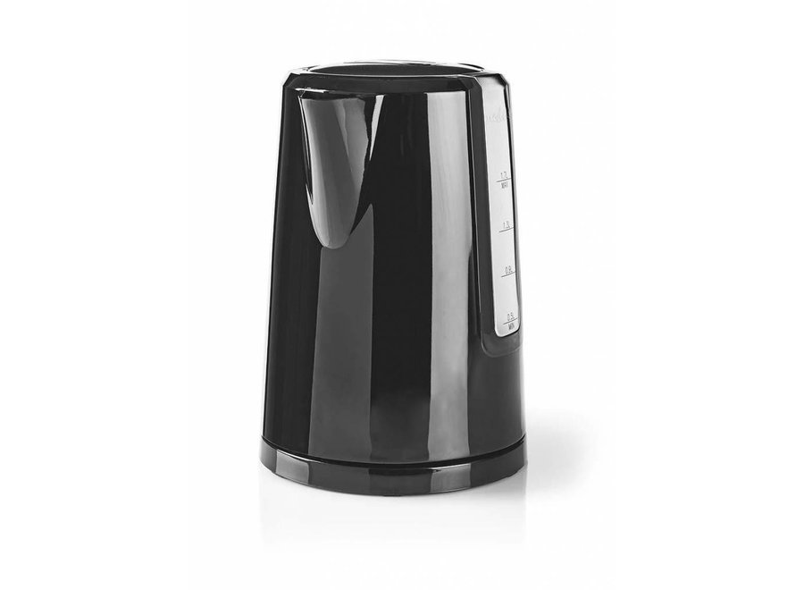 Nedis KAWK120EBK LED Waterkoker 1,7L - Zwart