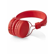 Nedis Nedis HPBT1100RD On-ear Bluetooth Koptelefoon - Rood