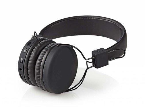 Nedis Nedis HPBT1100BK On-ear Bluetooth Koptelefoon