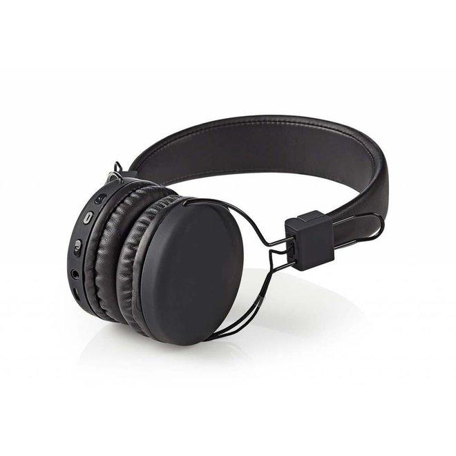 Nedis HPBT1100BK On-ear Bluetooth Koptelefoon