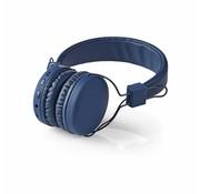 Nedis Nedis HPBT1100BU On-ear Bluetooth Koptelefoon